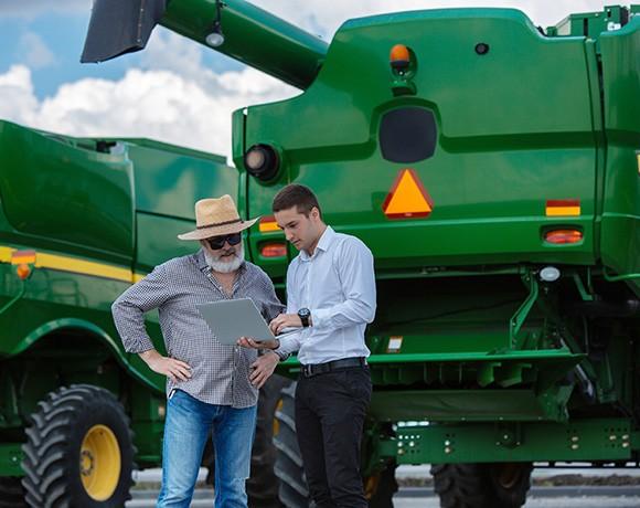 aquisicao dados campo Agrícola e Implementos