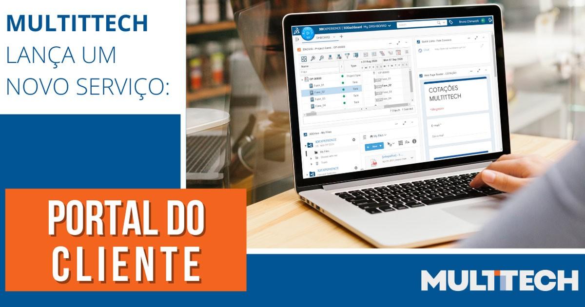 MULTITTECH lança um novo serviço - Portal do Cliente
